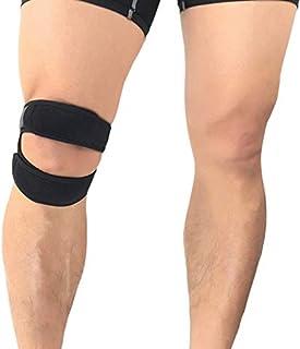 comprar comparacion VITTO Correa de soporte para el tendón de la rodilla de la rótula - Rodillera de primera calidad - Correas ajustables - Ay...