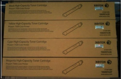 Xerox Phaser 7500 Toner CartridgeRetail Packaging by Xerox