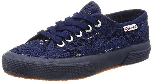 Superga Unisex-Erwachsene 2750-macramew Sneakers, Blau (081), 36 EU