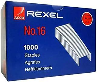 Rexel Staples, No.16, BOX(20x1000PCS)