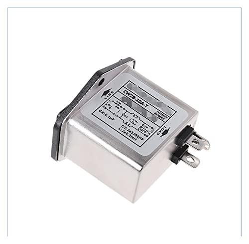 PUGONGYING Popular CW2B-10A-T emi Power Socket Socket Line-acondicionador de línea AC 115 / 250V U1JE Durable