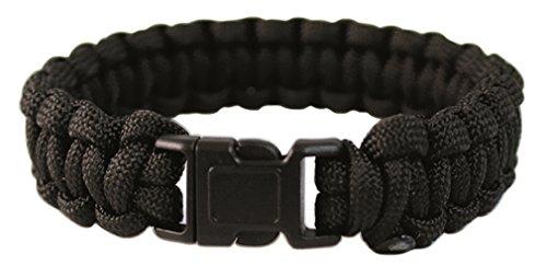 Mil-Tec para Armband 22mm KST.Verschl. schwarz Gr.L