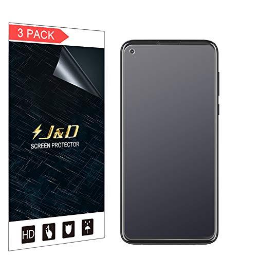 J&D Compatible para Motorola Moto G Pro Protector de Pantalla, 3-Pack [Anti Reflejante] [NO Cobertura Completa] Prima Película Mate Protector de Pantalla para Moto G Pro