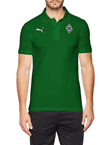 PUMA Herren BMG Badge Polo T-Shirt, Power Green, XL