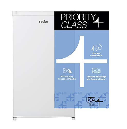 Sauber - Frigorífico compacto Una Puerta SFTT-85 - Eficiencia energética: A+ - 83,5x48cm - Color Blanco