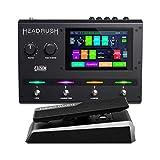 HeadRush Gigboard y Expression Pedal - Procesador de modelado de amplificadores y efectos de guitarra ultraportátil con pantalla táctil de 7 pulgadas y pedal de expresión