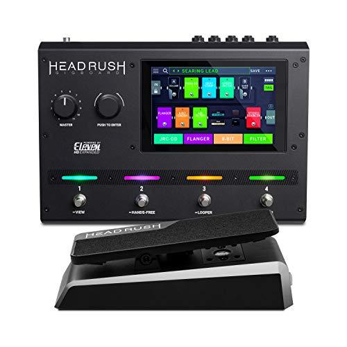HeadRush Gigboard et Expression Pedal – Processeur Multi-Effets, Modélisation d'Ampli...
