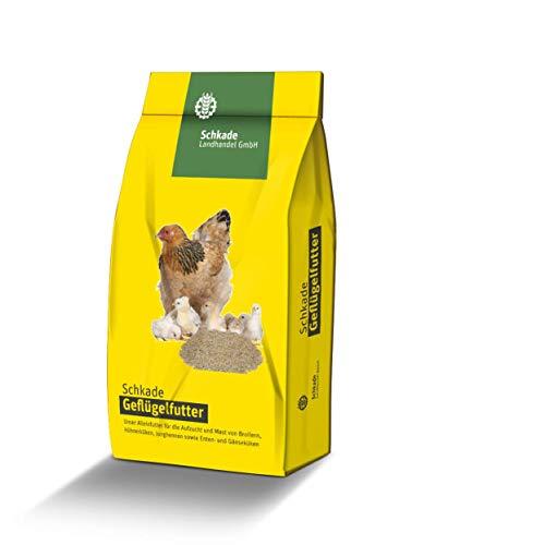 Schkade Landhandel GmbH Straußenfutter - 5 mm pelletiert - Alleinfutter für Strauße herstellt aus einheimischen Getreide und wertvollen Vitaminen und Mineralstoffen.