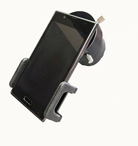TS-Optics universal Smartphone iPhone Adapter mit T2 Anschluß und Okularadapter 51-59 mm für Fotografie durch Teleskop oder Spektiv, SPA-T2 + T2-D59