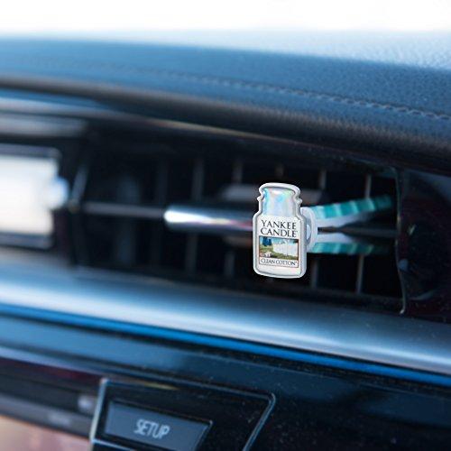 Yankee Candle Profumatore per Auto Car Vent Stick, Midnight Jasmine, 1
