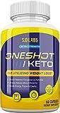 One Shot Keto Pills Oneshot Keto 1 Shot Fat Advanced Formula Supplement As Seen on TV (60 Capsules)