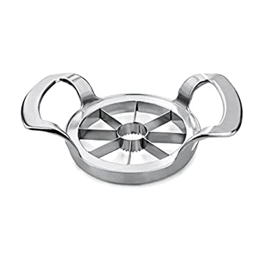 New Star Foodservice 42887 Heavy Duty Commercial Apple Corer and Divider, Silver