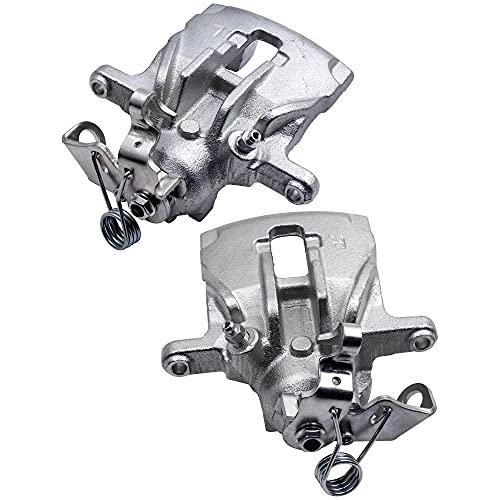 maXpeedingrods Pair Brake Caliper Rear Right & Left for MK IV 1990 1991 1992 1993 1994 1995 1996 1997 1998 1999 2000 2001 2002 2003 1.9D 2.0 2.4D 2.5 2.8 VR6