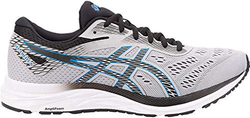 ASICS Men's Gel-Excite 6 Running Shoes, 11M, MID Grey/Electric Blue