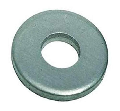Small Parts B009OJIH7G Steel Flat Washer, Plain Finish, ASME B18.22.1, 1/4