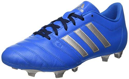 adidas Gloro 16.2 FG, Botas de fútbol Hombre, Azul (Azul (Shock Blue/Silver Metalic/Collegiate Navy), 40 2/3 EU