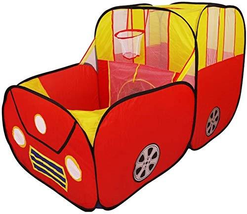Su propio espacio secreto, Tipi Carpa niños juegan for alquiler de carpa interactiva coche tienda casa de juego entre padres e hijos de dibujos animados cubierta al aire libre plegable portable de los