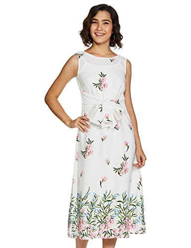 Amazon Brand – Eden & Ivy Women's Polyester A-Line Midi Dress