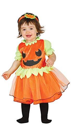 Guirca - Disfraz de Calabaza para bebé de 12/24 Meses, Color Naranja, de 12 a 24, GU_85826.