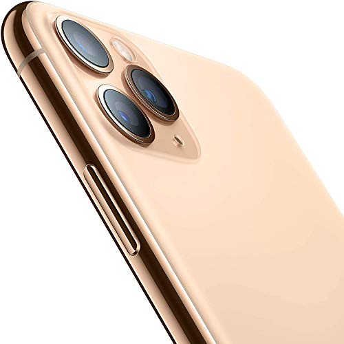 Apple iPhone 11 Pro Max, 64GB, Gold - For AT&T (Renewed)