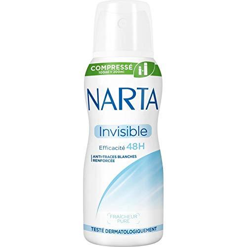 Narta - Femme Déodorant Atomiseur Compressé Invisible 100Ml - Lot De 3 - Livraison Gratuite