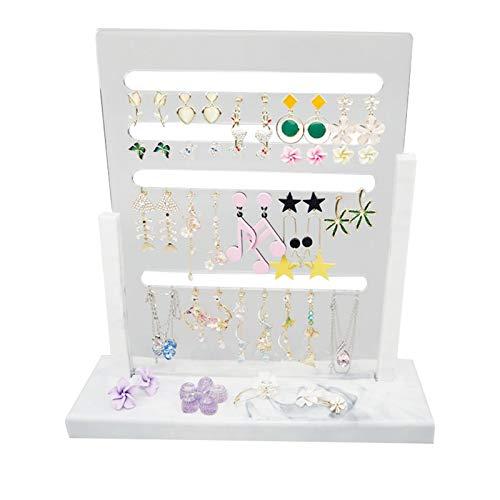 Pendiente organizador artesanal, molde para joyas, expositor, molde de silicona, para hacer artesanía, joyas, cajas de almacenamiento, adornos u otras joyas.
