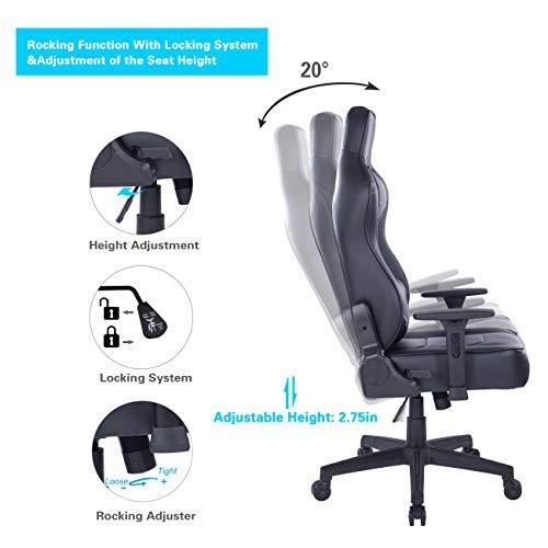 Wolmics Ruhender Gaming-Stuhl Bild 5*