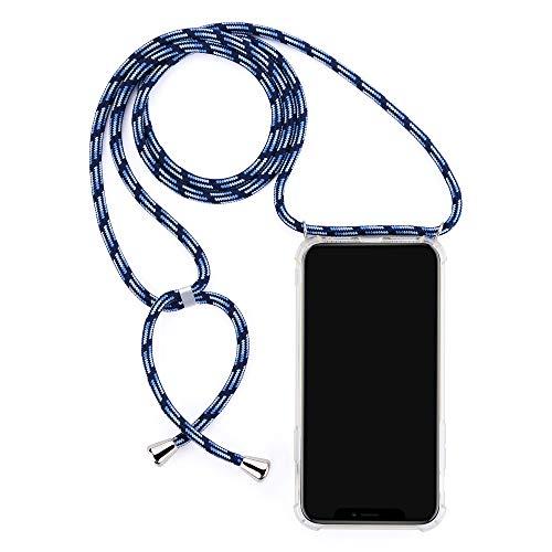 TANGNI Funda para Samsung Galaxy J4 Prime/J4 Plus/J410 Funda,[Reforzar la versión con Cuatro Esquinas] Funda Protectora de Silicona de Piel de Goma TPU a Prueba de Goma- Azul