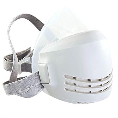 S-TROUBLE Filtro AG Algodón Silicona Soldadura Industrial Escudo Antipolvo Respirador antipartículas Cubierta Transpirable Protección sellada a Prueba de Polvo Filtro reemplazable