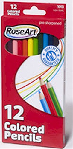 RoseArt Presharpened Colored Pencils (1013)