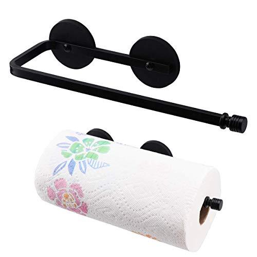 LEVOSHUA Magnetic Paper Towel Holder Paper Towel Rack Tower Bar for Refrigerator, Metal Cabinet