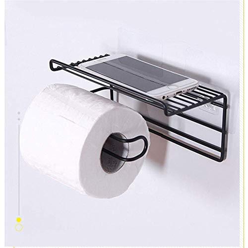 ETDWA Portarrollos de Papel higiénico Autoadhesivo con Esta