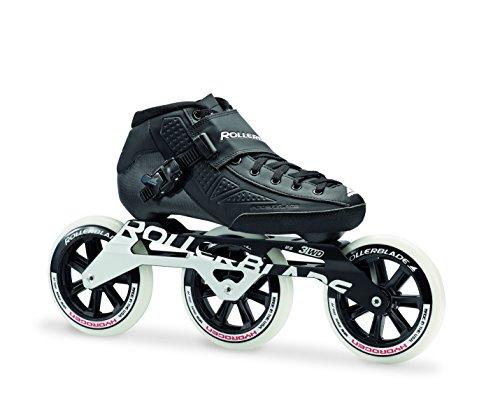 professional Rollerblade Powerblade Elite 125 Unisex Fitness For Adult Inline Skates Black Premium Roller Skates