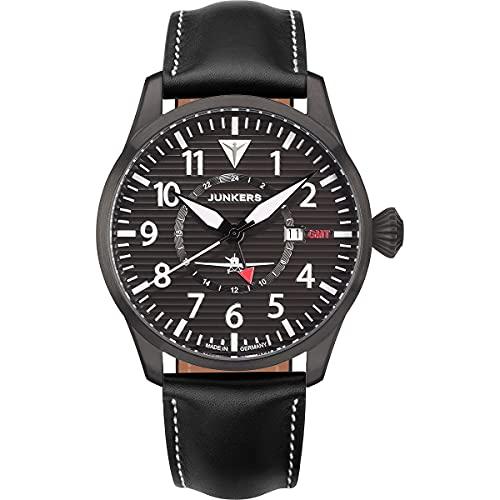 Junkers Flieger GMT 9.54.01.02 - Lamiera ondulata nera
