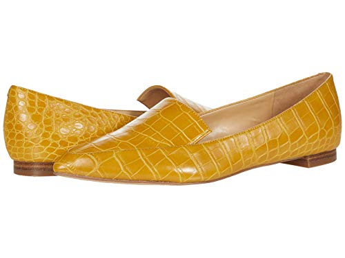 NINE WEST Women's WNABAY3 Loafer, Yellow726, 6.5