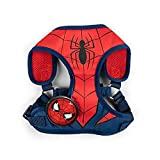 Marvel Comics for Dogs Spiderman Superhero Dog Harness for Small Dogs | No Pull Dog Harness, Dog Vest Harness | Red No Escape Large Dog Harness Spiderman Dog Costume in Size Small (S)