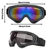 Zoom IMG-1 2 pezzi occhiali da sci