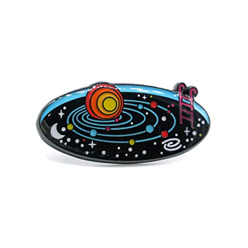 Emaille Pin Solar System Space Pool