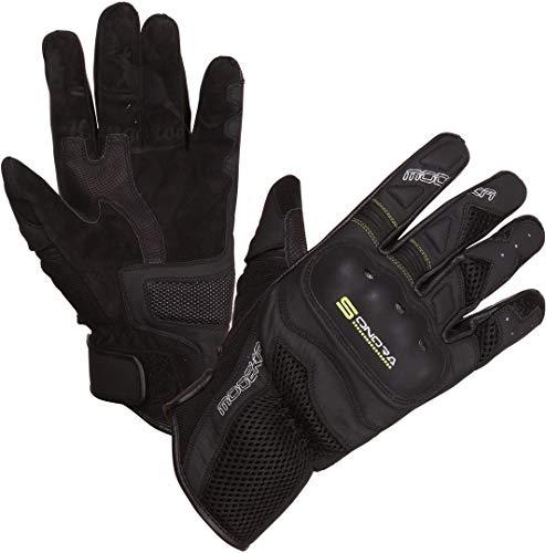 Modeka Sonora Handschuhe Schwarz/Neon 10