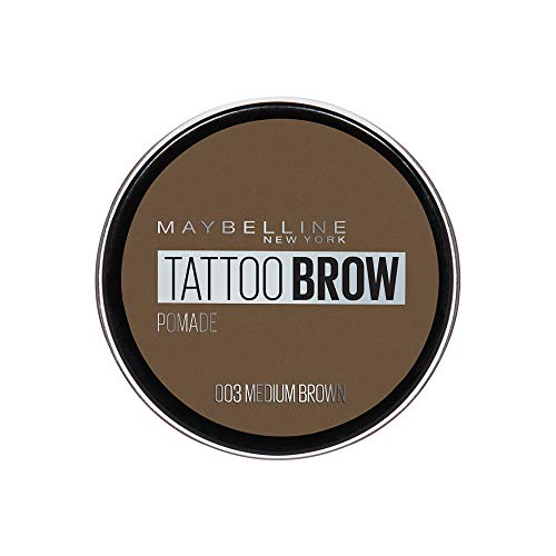 Maybelline New York Tattoo Brow Augenbrauenpomade in Nr. 03 Medium, 4 ml