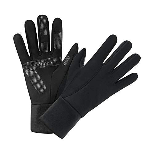FanVince Winter Thermal Gloves Touch Screen Water Resistant Warm Glove Windproof for Running Cycling...