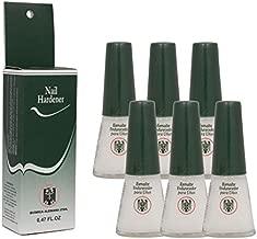 6 Bottles Quimica Alemana Nail Hardener Strengthener Polish Treatment 0.47 oz