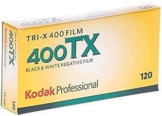 kodak 115 3659 Tri-X 400 Professional 120 Black and White Film 5 Roll Propack 2-Pack