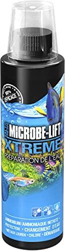 MICROBE-LIFT Xtreme - Wasseraufbereiter für fischgerechtes Aquariumwasser, neutralisiert fischschädliche Stoffe im Leitungswasser, 236ml