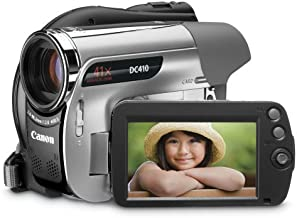 Canon DC410 DVD Camcorder with 41x Optical Zoom