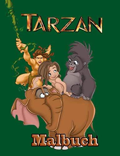 Tarzan Malbuch