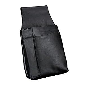 Alassio 42079 - Riñonera para Camarero (Piel de napa, Aprox. 22 x 15 x 4 cm), Color Negro | DeHippies.com