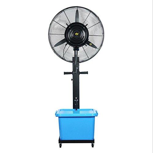 Xiao Jian- Ventilador de nebulización - Ventilador de nebulización oscilante de Gran tamaño para Exteriores Ventilador Potente Ventilador Industrial de pie Tamaño del Ventilador - 26 Pulgadas Área de
