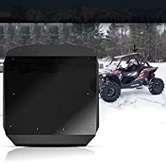 [POLYCARBONATE UTV COATED] Comes with light transmission, better heat insulation performance than plastic, aluminum alloy or others. Not only this, it resistant to stepping, and with strong sense of wide space. It should be nice choice for you. [PROT...