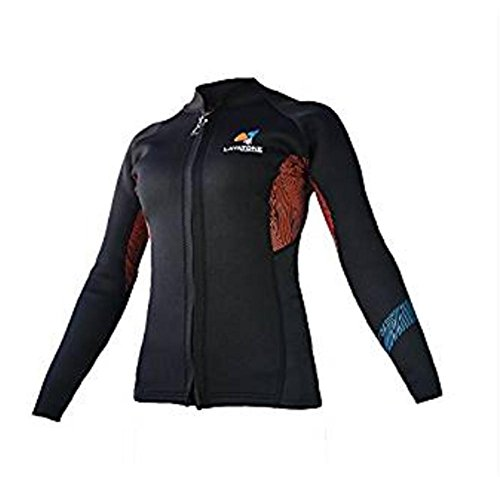pengweiLayatone Wetsuits Jacket 2mm Neoprene Camiseta de Manga Larga Top, XL